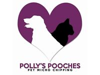 Mobile pet micro chipping