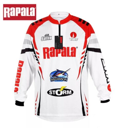 Fishing Outdoor Shirt Long Sleeve Breathable Men Quick-Drying Special rapa