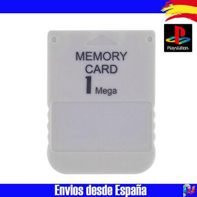 Playstation 1 Ps1 Psone MEMORY CARD 1 MB Targeta de memoria