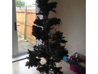6ft Christmas Tree pre-lit with decorations