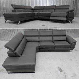 CORNER LOUNGE WITH CHAISE - ADJUSTABLE READRESTS
