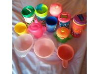 Bowls, beakers and cups