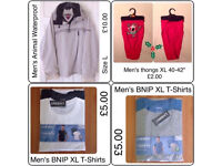 VARIOUS MENS CLOTHING ~ DIFFERENT SIZES ~ CHECK PHOTOS