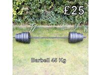 Barbell - 45 Kg