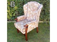 Wingback Armchair (B)