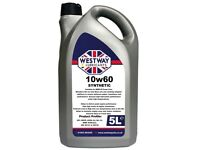 BMW M5 and M Cars 10w60 Engine Oil Westway 10 litres 2 x 5l containers