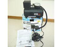 NEW 12V Portable Mini Air Compressor 300 PSI FREE POSTAGE (NEW) (B)
