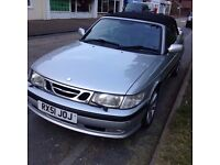SAAB 93 2.0 AUTO 150 BHP CABRIOLET -SILVER -TWO TONE LEATHER