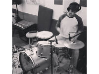 Drummer available for studio recording (session) work in and around London UK