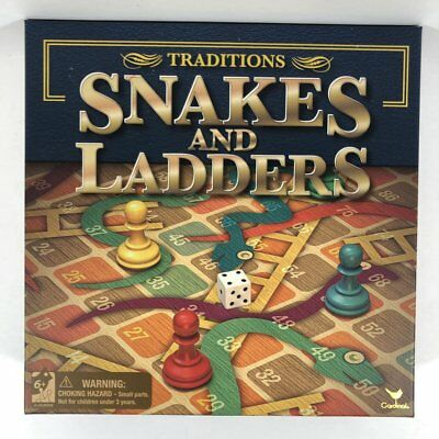 Brand new traditional Snakes and Ladders classic board - Ladders Game