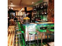 Enthusiastic cook/chef required for this fab local bar and eatery