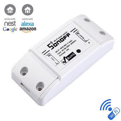 DIY Home: Sonoff - ITEAD WiFi Smart Switch Module Socket works with Nest & Alexa