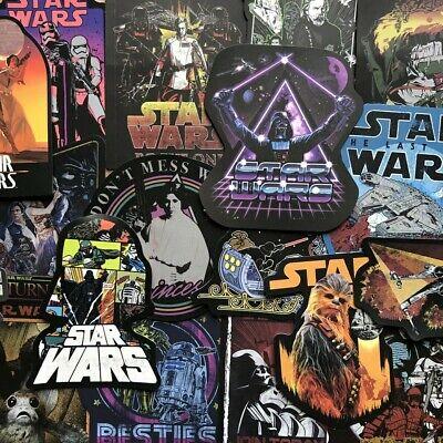 10x NEW VERSION Star Wars Vinyl Stickers Decals Wall Art Bumper Window Laptop