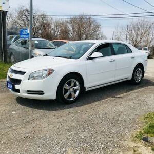 2012 Chevrolet Malibu 2.4L ECONOMICAL PLATINUM EDITION LOADED
