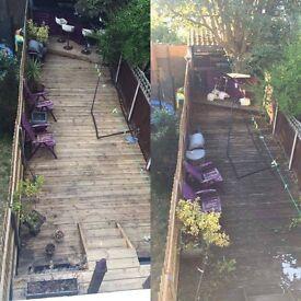 Jet Washing - Driveway, Stairs, Patio, Paving & Decking Cleaning