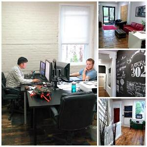 Office space available at Hamilton's best co-working space!