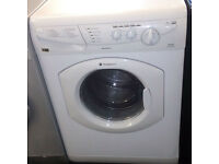 Y163 white hotpoint 5+5kg 1200 spin washer dryer comes with warranty can be delivered or collected