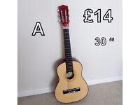 "30"" Junior Acoustic Guitar (A)"
