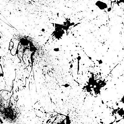 Hydro Dip Water Transfer Hydrographic Film Black Splatter