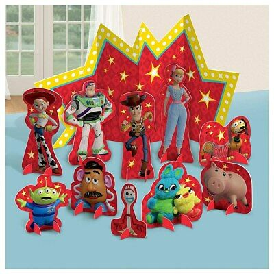 Disney Toy Story 4 Table Decorating Kit Birthday Party Supplies Center Piece ](Party Supply Center)