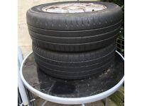 Golf 5. Stud alloy wheels