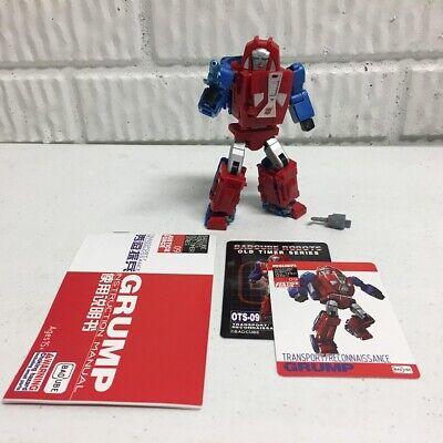 Transformers Masterpiece Badcube Grump OTS-09 MP Gears Loose COMPLETE US SELLER