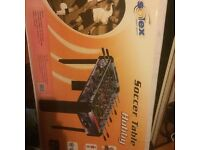 Foosball Soccer table, never used still in box idealgift