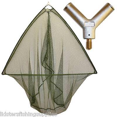 "42"" Inch Carp  Fishing Landing Net With Metal Block Large Net Head NGT TACKLE"