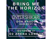 Bring Me The Horizon @ The O2, London - Standing Ticket - Mon 31st
