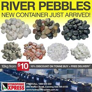 LARGE RANGE OF HIGH QUALITY RIVER PEBBLES STARTING AT ONLY $10!!! Canning Vale Canning Area Preview