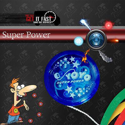 New Light Up YoYo Yo Clutch Mechanism Fun Toy Speed Ball High Performance Play