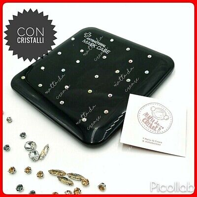 Porta Mascherina Custodia per Mascherine con strass Contenitore Cover tascabile