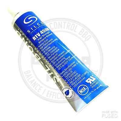 Silco 4500 Rtv Black Silicone Sealer Adhesive High Temp Food Safe Caulk 2.8 Oz