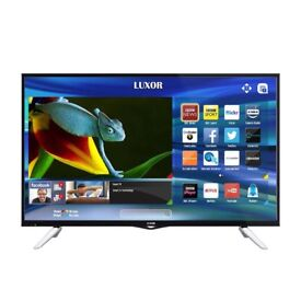 BRAND New LUXOR 43 inch Ultra HD 4K LED Smart TV with wifi, Miracast & Freeview Play