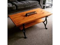 Antique Look Coffee Table