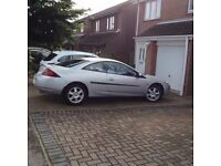 Very Low Mileage Ford Cougar V6 - Oct 2001- Face Lift model - Excellent Condition - MOT for 1 year