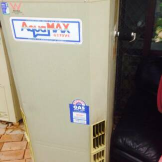 Aquamax 135L natual gas water heater tank/unit works perfectly