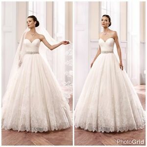 Wedding dress priced to sell! Must go!
