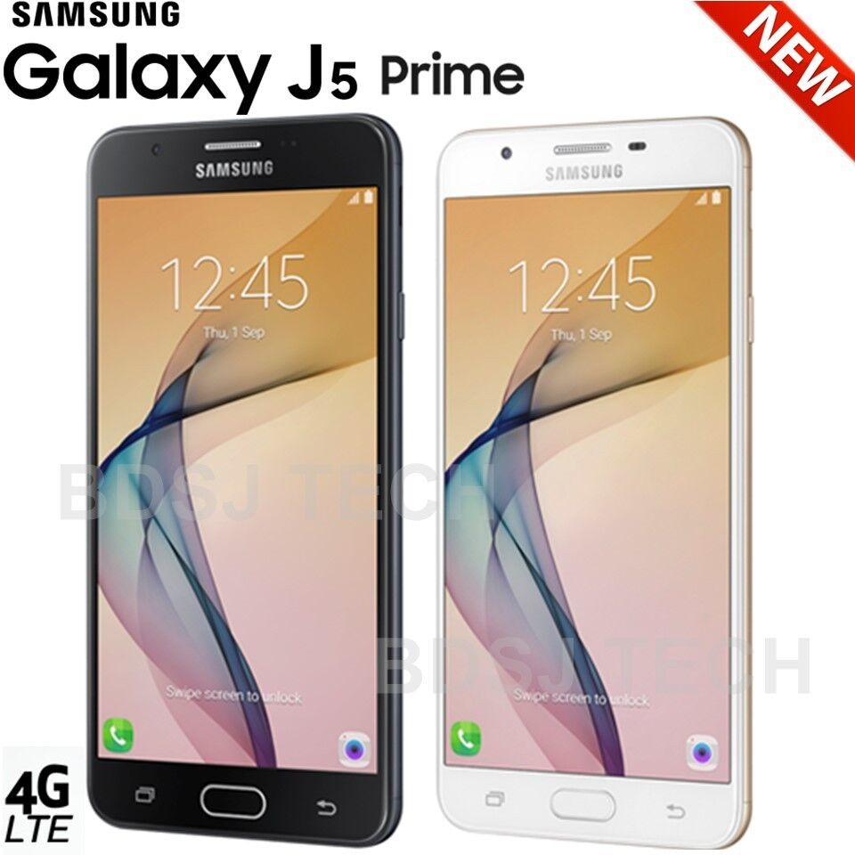 $184.95 - Samsung Galaxy J5 Prime LTE (16GB) G570M/DS 4G Dual SIM GSM Factory Unlocked