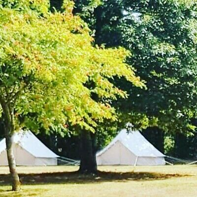 4m professional bell tent, with heavy duty sewn in ground sheet Ex Hire