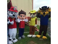 mascot costume paw patrol marshal,chase,skye,everest,zuma,rocky,mickey,minnie + more collect/post
