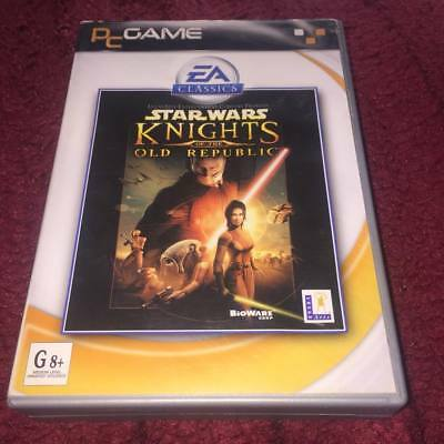 STAR WARS kinghts of the old republic MEDIUM SIZED BOX Pc Game ()