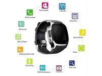 T8 Bluetooth Smart Watch SIM Slot & Camera For Android Smart Phone Compatible
