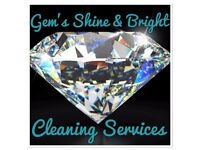 Gems shine & bright cleaning services