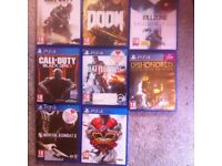 New PS4 and a games