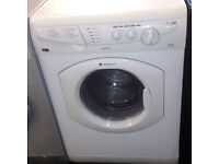 a163 white hotpoint 5+5kg 1200spin washer dryer comes with warranty can be delivered or collected