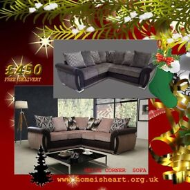 * * * BLACK FRIDAY SALE NOW ON * * HELIX CORNER SOFAS * FREE UK DELIVERY / NEXT DAY DELIVERY **