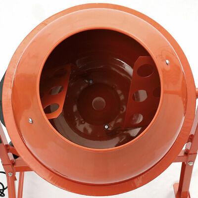 Electri Cement Concrete Mixer Freestand Mortar Plaster Mixer 63L & 140L