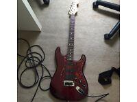 Fender MiM Strat with EMG Actice pickups