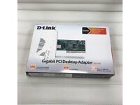 d-link gigabit pci desktop adapter dge-528t- ETHERNET NETWORK